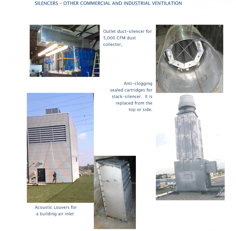 C brochure page 5 showing other ventilation equipment applications